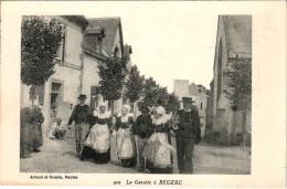 LA GAVOTTE A BEUZEC ,EDITIONS ARTAUD ET NOZAIS REF 57011 - Beuzec-Cap-Sizun