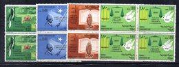 0/1500 - SOMALIA 1970 , Yvert Serie  N. 124/127  *** : QUARTINE INTEGRE - Somalia (1960-...)