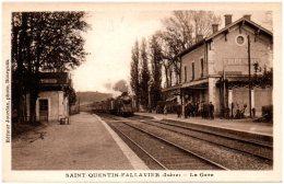 38 SAINT-QUENTIN-FALLAVIER - La Gare - France