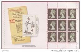 1988 GB Machin Pane  SG X1009l  From The Financial Times Prestige Booklet - UM / MNH - 1952-.... (Elizabeth II)