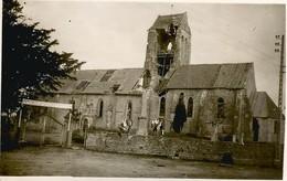 Orglandes ::photo église Ww2 - Autres Communes