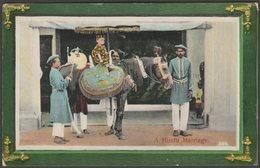 A Hindu Marriage, C.1910 - Postcard - India