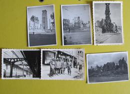 Amiens Août 1940 Luftwaffe 2e Guerre Aviation Ruines Et Prisonniers - Documents