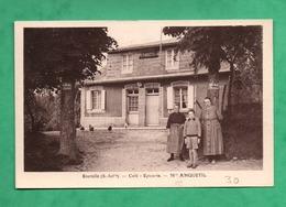 76 Seine Maritime Bourville Café Epicerie De Mme Anquetil - Altri Comuni