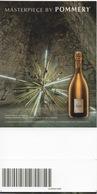 Ticket D'Entrée : Visite Cave Champagne VRANKEN POMMERY Vierge Blank TBE - Tickets - Entradas