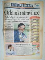 6879FM- GIORNALE DI SICILIA NEWSPAPER, CASTLE, COLONIAL ISSUE STAMP, 1993, ITALY - Altri