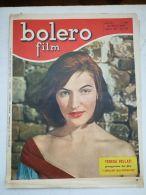 6892FM- BOLERO FILM CINEMA NEWSPAPER, ACTORS, MOVIE SCENES, 1954, ITALY - Cinema