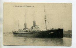 MARINE 241 LE HAVRE   Paquebot  Transatlantique LA LORRAINE  Dans Le Port 1910 - Passagiersschepen