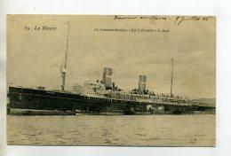 MARINE 276  Bis LE HAVRE  Paquebot LA LORRAINE à Quai 1905 écrite Longuement - Boten