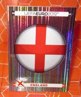 EURO 2012 POLAND-UKRAINE PANINI N. 485 ENGLAND  NEW NUOVA CON VELINA - Panini