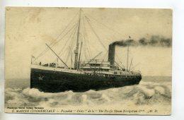 MARINE 362    Paquebot  ORITA De La Cie The Pacific Steam Navigation - Steamers