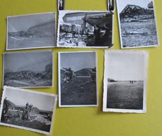 Amiens Aérodrome Glisy Juin 1940 Luftwaffe Avions RAF Corps Expéditionnaire Britannique Hurricane Lysander Et Blenheim - Documents