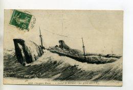 MARINE 428  Bateau  AMIRAL DE KERSAINT Par Grosse Mer Chargeurs Réunis  1910 - Passagiersschepen