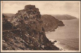 Castle Rock, Lynton, Devon, C.1930s - Photochrom Postcard - Lynmouth & Lynton