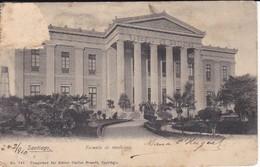 POSTAL DE SANTIAGO DE LA ESCUELA DE MEDICINA DEL AÑO 1910 (CHILE) (CARLOS BRANDT) - Chile