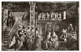 Firenze - Cartolina NASCITA DELLA VERGINE Di D. Ghirlandaio (3998) (Testo Per Elena Mazzari, Pittrice, Anni '30) - P69 - Pittura & Quadri