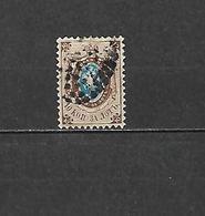 1858 - N. 5 USATO (CATALOGO UNIFICATO) - 1857-1916 Impero