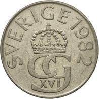 Monnaie, Suède, Carl XVI Gustaf, 5 Kronor, 1982, TTB, Copper-nickel, KM:853 - Suède