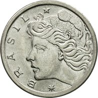 Monnaie, Brésil, 2 Centavos, 1975, TTB, Stainless Steel, KM:586 - Brazil