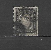 1889/92 - N. 53 USATO (CATALOGO UNIFICATO) - 1857-1916 Impero