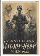 Propaganda, Hitler, Nazi, Drittes Reich, Wehrmacht, Hakenkreuz, Swastika, Propagandakarte, Wien - Weltkrieg 1939-45