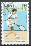 Cuba 1993. Scott #3479 (U) Davis Cup Tennis Competition * - Cuba