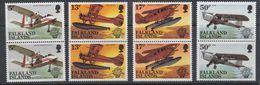 Falkland Islands 1983 Bicentenary Of Manned Flight  4v (pair) ** Mnh (40562) - Falklandeilanden
