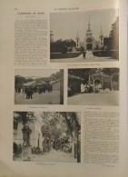 1903 REIMS - L'EXPOSITION - SQUARE COLBERT - VILLAGE NOIR - DANSE ORIENTELES - Journaux - Quotidiens