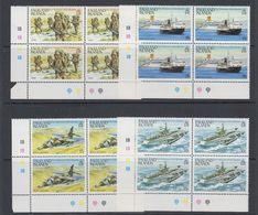 Falkland Islands 1983 1st Anniversary Liberation 4v Bl Of 4 ** Mnh (40562B) - Falklandeilanden