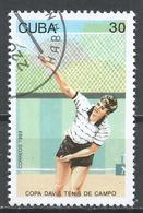 Cuba 1993. Scott #3480 (U) Davis Cup Tennis Competition * - Cuba