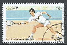 Cuba 1993. Scott #3481 (U) Davis Cup Tennis Competition * - Cuba