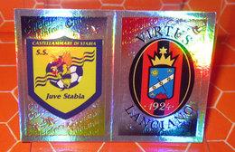 CALCIATORI 2012-2013 N. 570 VIRTUS LANCIANO - JUVE STABIA  NEW NUOVA CON VELINA - Panini
