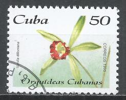 Cuba 1995. Scott #3684 (U) Flower, Orchids, Vanilla Dilliniana * - Cuba