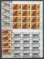 Falkland Islands 1983 Bicentenary Of Manned Flight  4v 12x ** Mnh (40562E) - Falklandeilanden