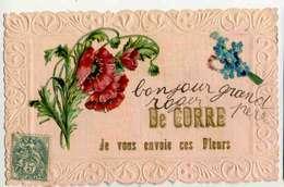 CORRE  Fantaisie Découpis, Je Vous Envoie Des Fleurs, Coquelicots - France