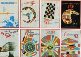 VP12.966 - PORTUGAL - 1986 - Sport Automobile - Petit Calendrier - Calendario X 8 - Rallye International  TAP - LISBOA - Calendriers