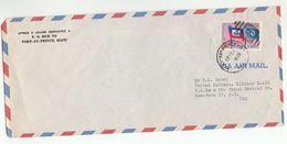 1959 HAITI COVER UN FLAG Stamps To UNITED NATIONS USA Airmail - Haiti
