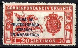 Marruecos Español Nº 90 Con Charnela - Marruecos Español
