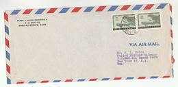 1950s HAITI COVER UN MAP UNESCO FAO UNICEF  Stamps To UNITED NATIONS USA Airmail - Haiti