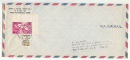1964 HAITI COVER ANTI HUNGER Stamps To UNITED NATIONS USA Airmail Un - Haiti