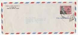 1959 HAITI COVER DUVALIER Stamps To UNITED NATIONS USA Airmail Un - Haiti