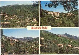 06 – BENDEJUN : Souvenir De Bendejun – 4 Vues Différentes : Vue Générale – Carrière Soutrana L'immeuble HLM – Quartier S - Francia
