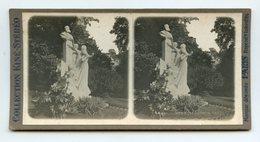 """COLLECTION KINÉ-STÉRÉO """"""""""""Paris """"""""""""   . Monument De GOUNOD - Photos Stéréoscopiques"""
