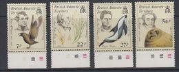 British Antarctic Territory (BAT) 1985 Early Naturalists 4v (+margin)  ** Mnh (40563) - Brits Antarctisch Territorium  (BAT)