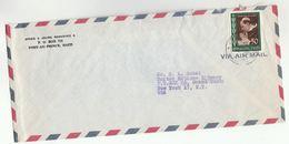 1959 HAITI COVER POPE PIUS PEACE Stamps To UNITED NATIONS USA Airmail Un  Religion - Haiti