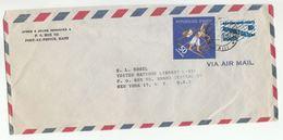 1960s HAITI COVER SAILING SHIP Stamps To UNITED NATIONS USA Airmail Un - Haiti