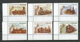 Romania  2006 The 150th Anniversary Of The Opening Of The First Railroad In Romania Oravita-Bazias - Steam Locomotiv.MNH - 1948-.... Républiques