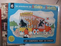 EO SYLVAIN ET SYLVETTE N°6  LES COMPERES FONT DU CIRQUE - Sylvain Et Sylvette