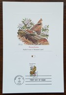 Etats-Unis - CM 1982 - YT N°1419 - Faune Et Flore Officielles Des Etats De L'Union / Pennsylvanie - Maximumkarten (MC)
