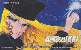 Carte Prépayée Japon - MANGA - GALAXY EXPRESS - ANIME Japan Prepaid Card - BD Comics Tosho Karte - 10529 - Comics